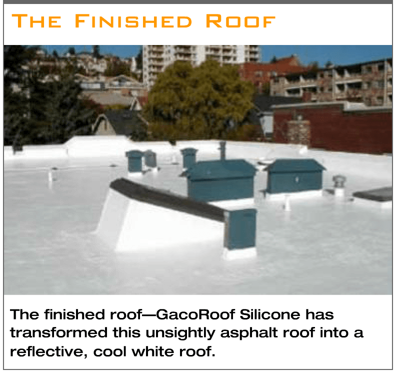 GacoRoof 100% Silicone Roof Coating - OceanView Roofing