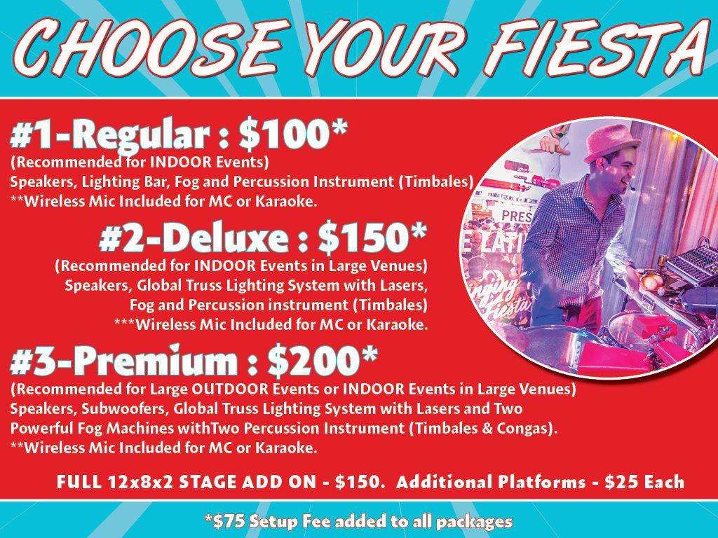 Choose Your Fiesta