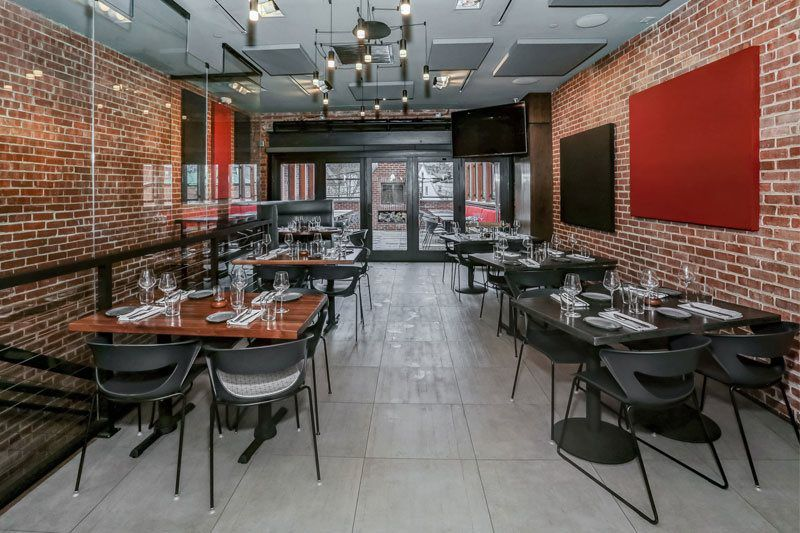 Gallery Contemporary American Restaurant In Morristown Nj Town Bar Kitchen