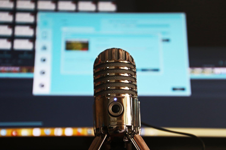 air broadcast audio blur