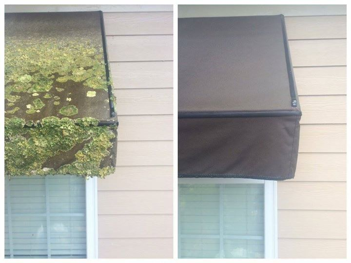 Boat Lift Canopy / Canvas Awning Cleaning & Boat Lift Canopy / Canvas Awning Cleaning - Renew Softwash Oconee