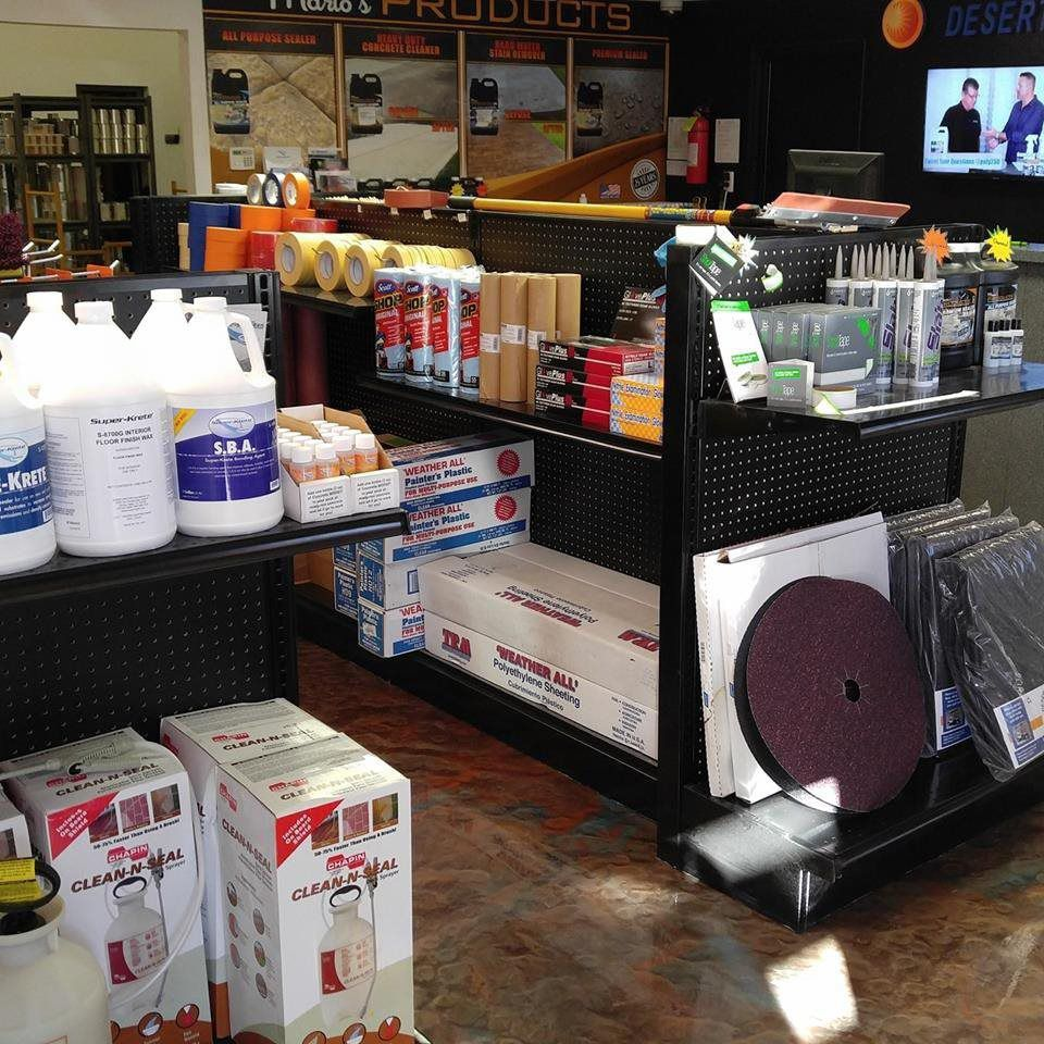 Desert Polymer Flooring Products
