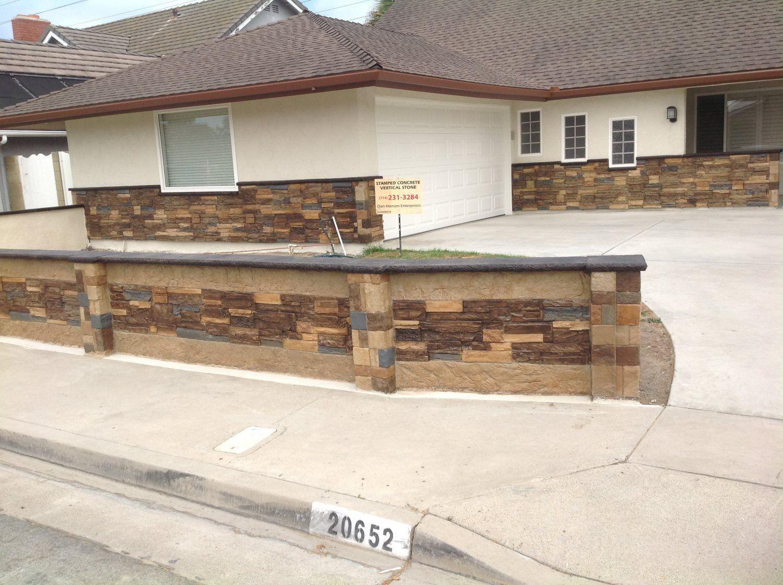 concrete outdoor flooring