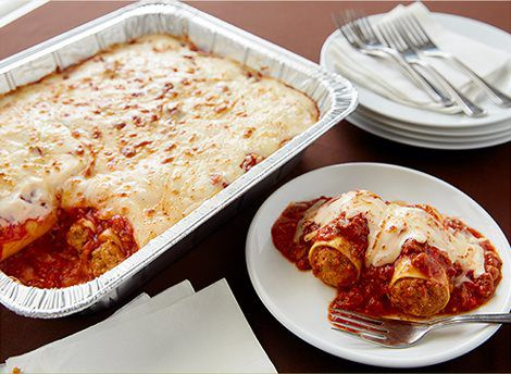 Home nashville catering company Olive garden sausage stuffed giant rigatoni