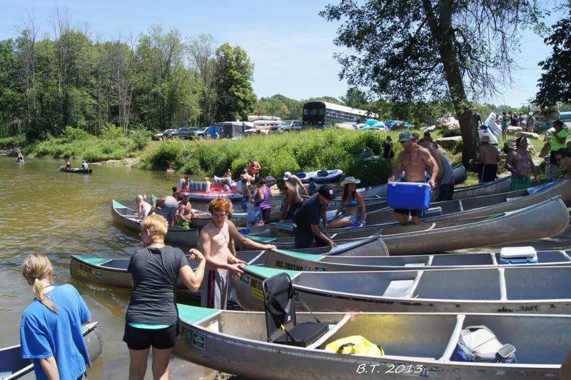 Riverbend Camground & Canoe Rental | Omer, Michigan