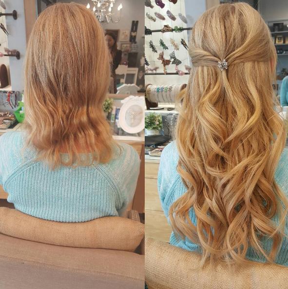 Home Tiara Hair Extensions