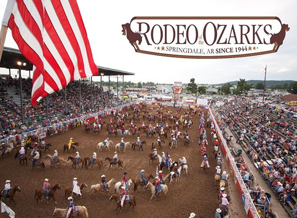 Buckle Club Event Rodeo Of The Ozarks