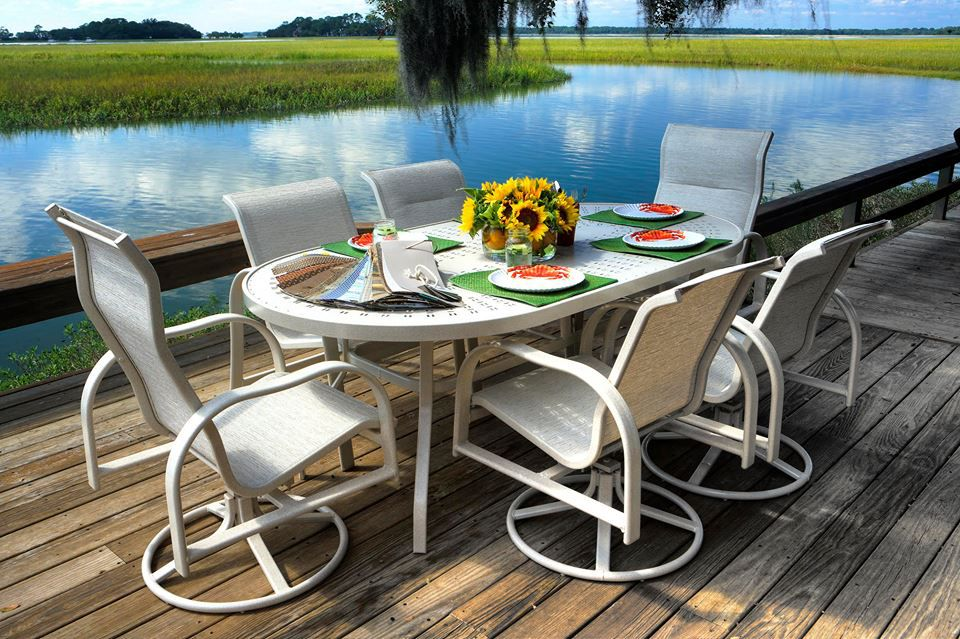 Aluminum Patio Furniture Made In Florida.