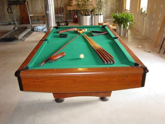 Used Tables And Furniture Franklin Billiard Company - American pool table company