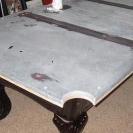 Billiard Table Professional Services Franklin Billiard Company - Pool table slate repair