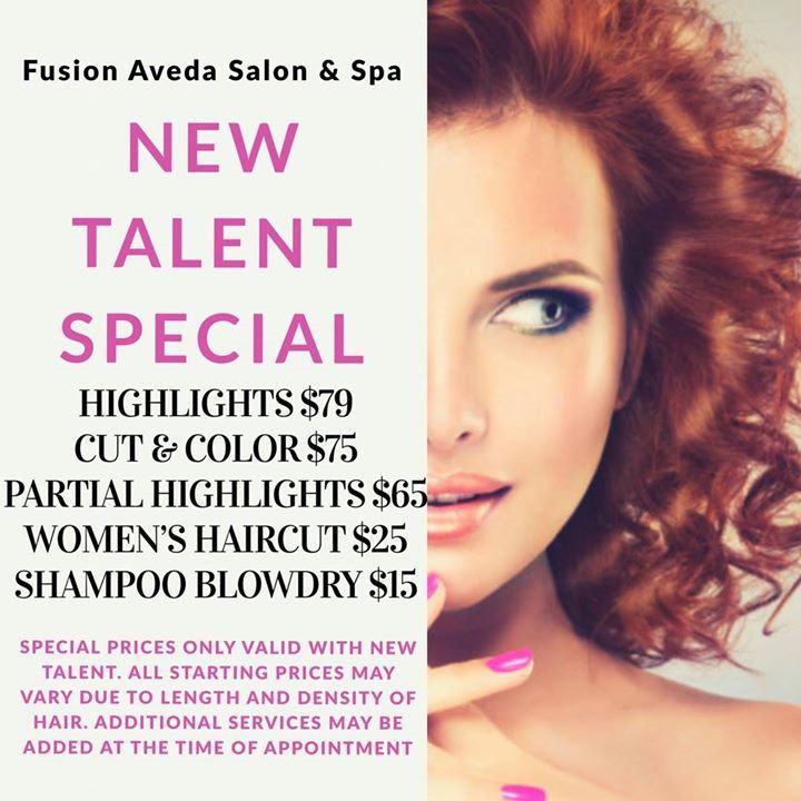 Fusion New Talent Special Fusion Hair Salon