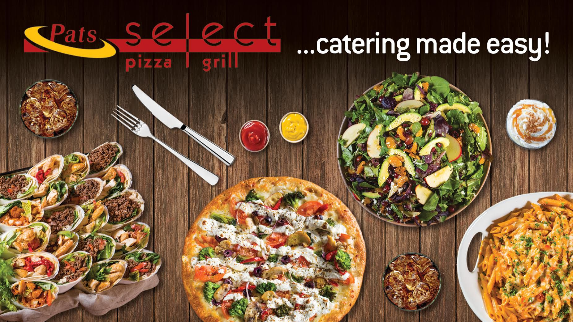 pats select pizza grill coupons
