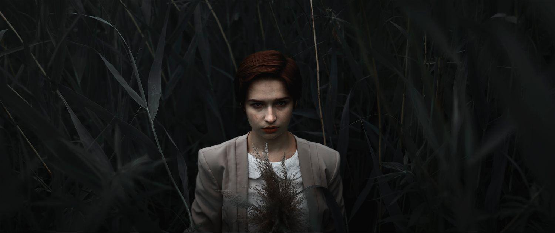 emo woman