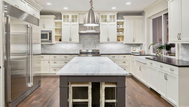 We Can Help You With All Aspects Of Design For Your New Kitchen, Bathrooms,  Crown Molding And All Other Interior Trim.