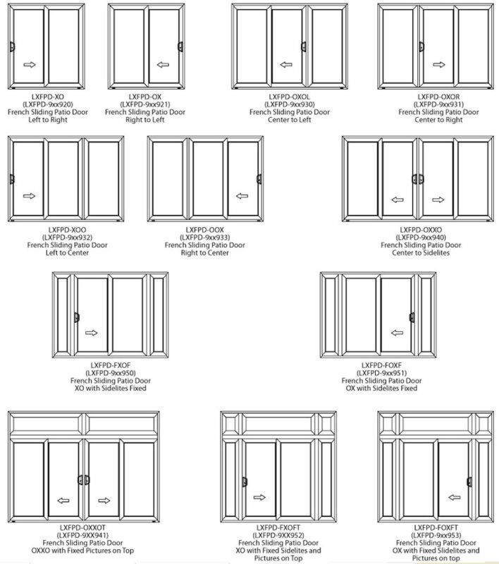 Sliding French Door Anamar Windows Manufacturing
