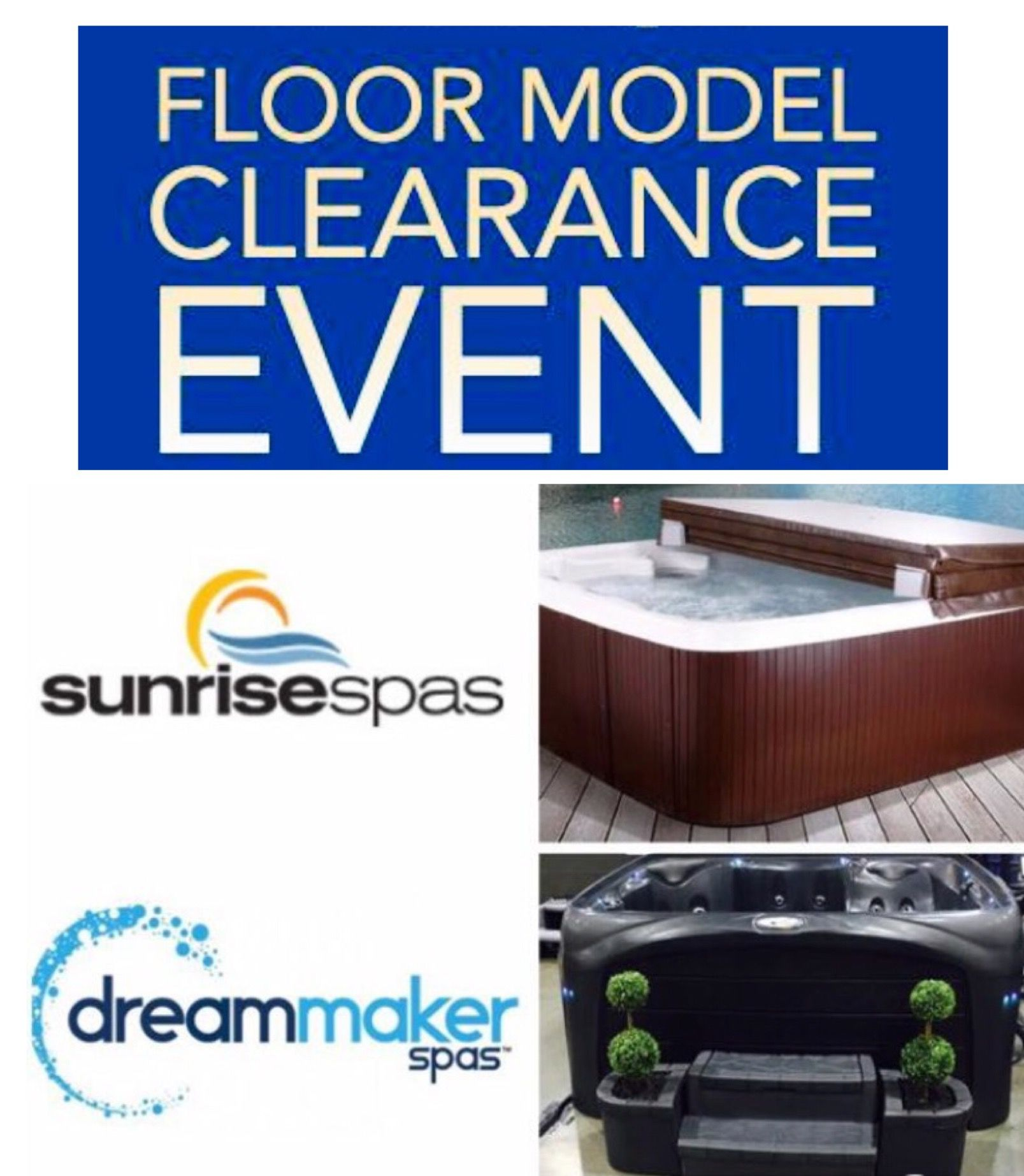 2017 Hot Tub Floor Model Clearance Sale - Pool Town