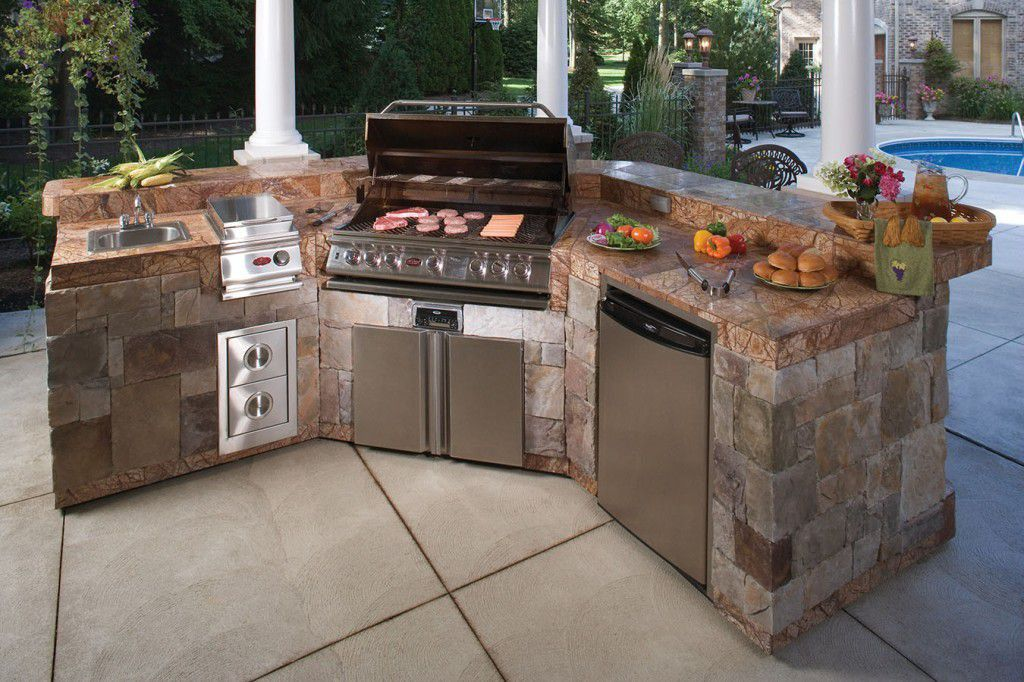Custom Bbq Island And Outdoor Kitchens Bbq Repair Pros