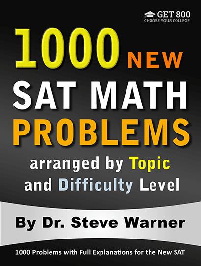 1000 SAT Math Problems