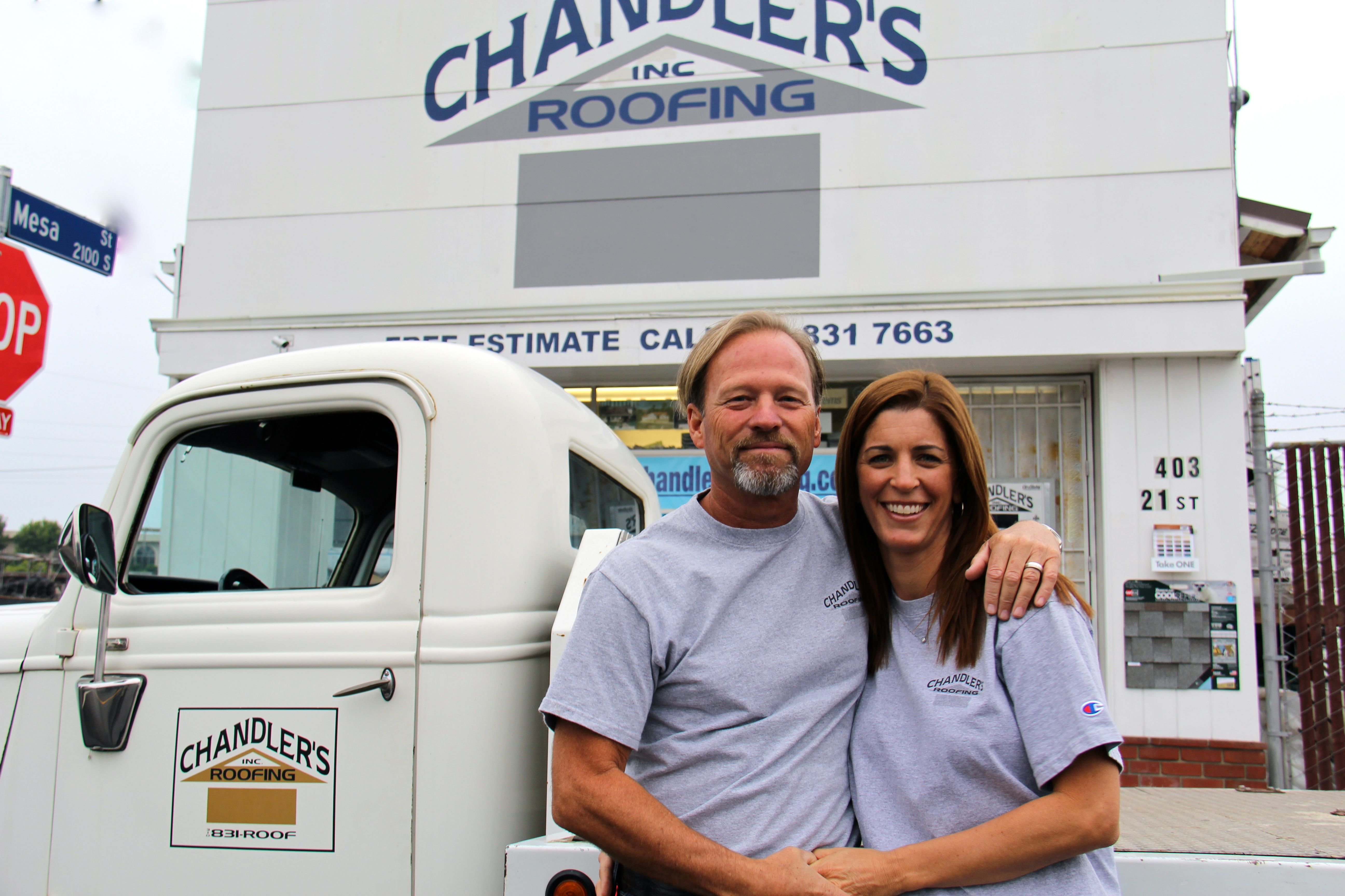 Contact Us Chandler S Roofing