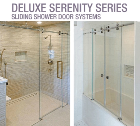 BiPass/Framed Shower Enclosures - Canmore Glass