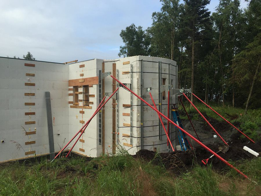 Insulated concrete forms remote alaska solutions inc for Icf residential construction