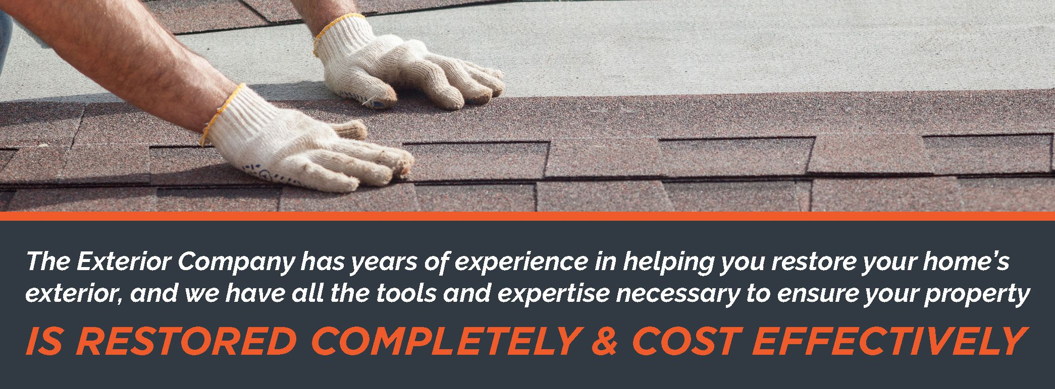 Contact The Exterior Company for professional help