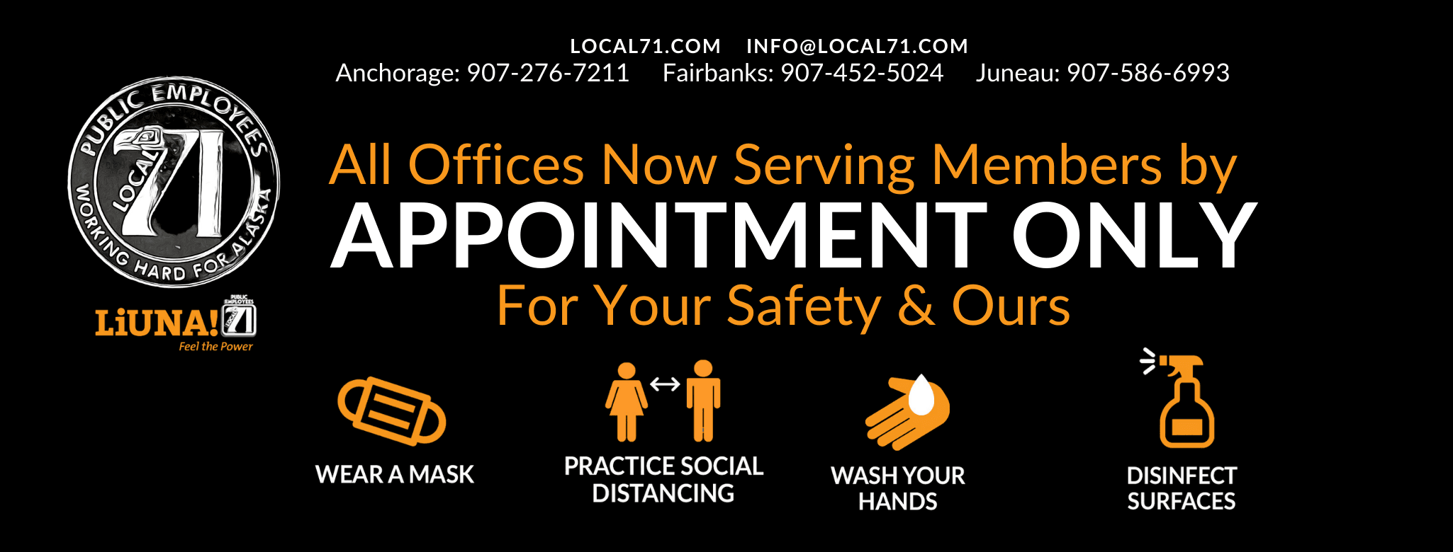 All Offices Now Serving Members by APPOINTMENT ONLY Until Further Notice (2).png