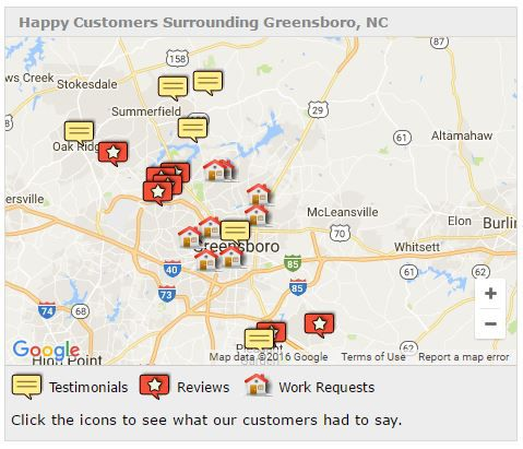 Greensboro - Alert Construction on map of raleigh nc, map of charlotte nc, map of north carolina, map of greenville nc, map of asheville nc, map of moyock nc, map of hog island nc, map of memphis tn, map of griffin nc, map of ogden nc, map of salemburg nc, map of orange co nc, map of biltmore forest nc, map of saxapahaw nc, map of clarksville nc, map of atlanta, map of charlottesville nc, map of columbus ga, map of bunnlevel nc, map of ferguson nc,