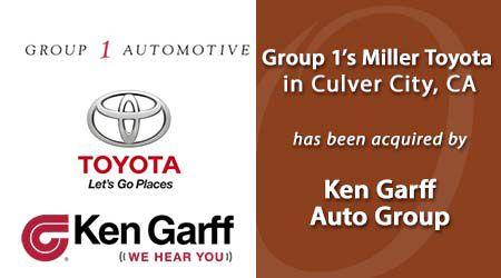 Ken Garff Acquired Miller Toyota
