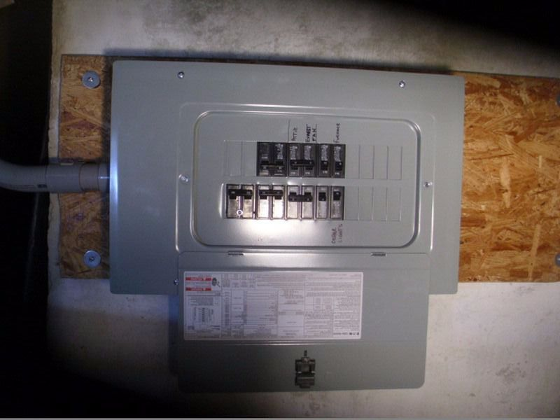 replacing old fuse box photo gallery alert construction  photo gallery alert construction
