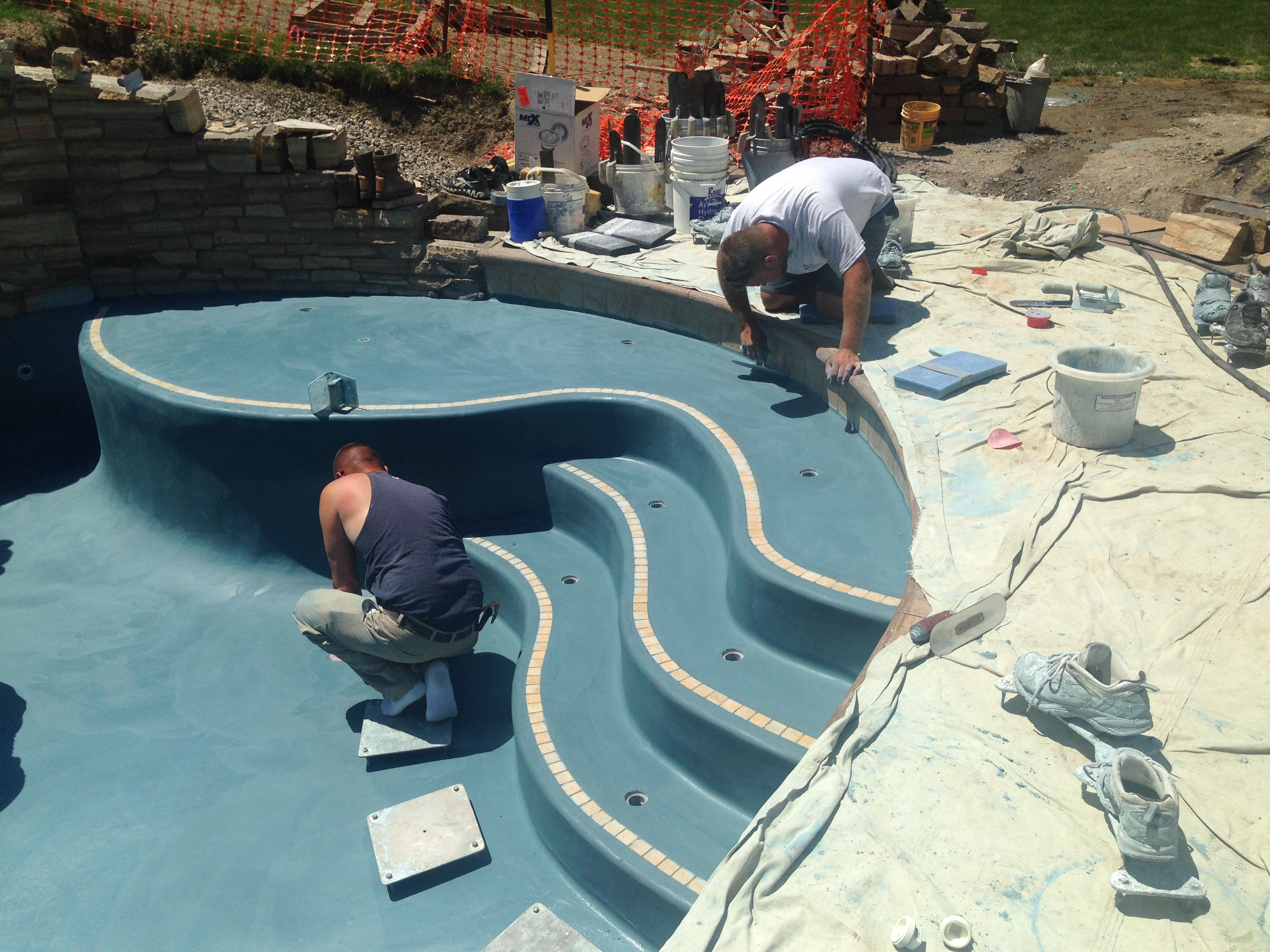 Swimming Pool Replastering Southern Shores Pool Company