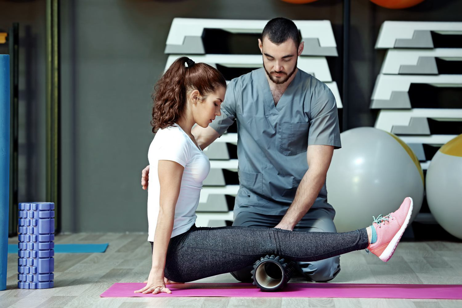 Physical therapy and rehabilitation program