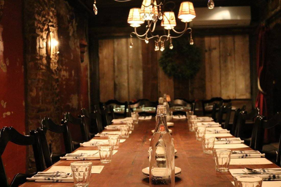 elegant restaurant in Ohio
