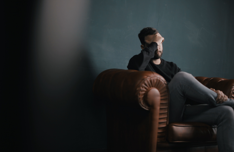 Allendale Baptist Church Blog Worried Man Anxious