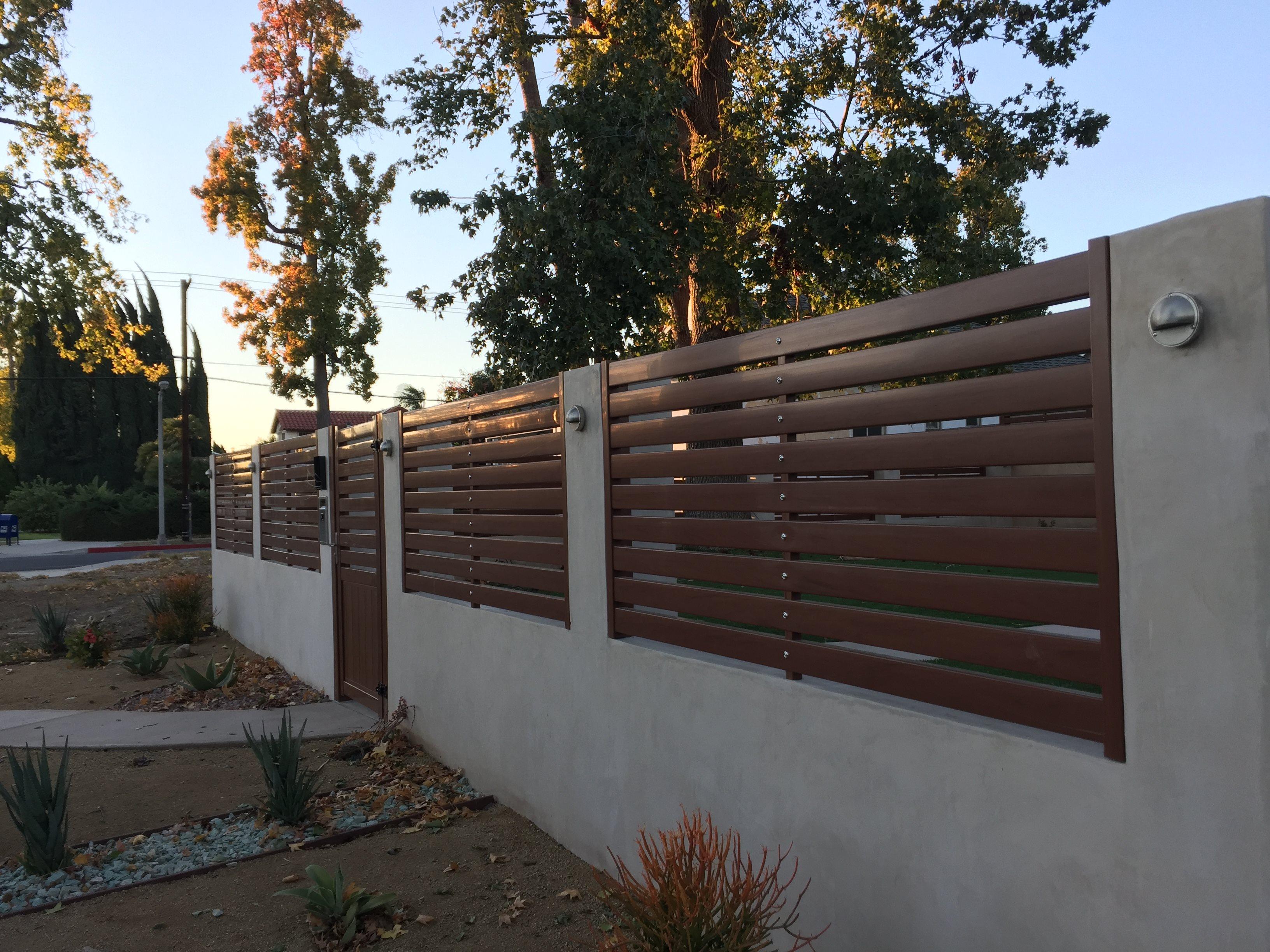 Fencing Fencing Deck Railing Gates Patio Vinyl Smart