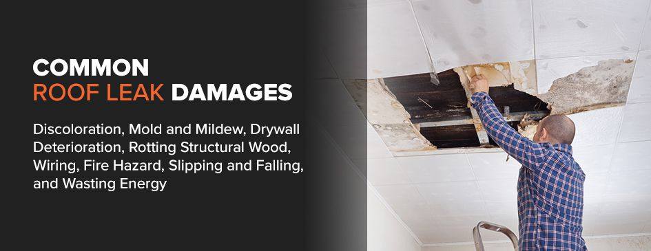 Common Causes of Roof Leaks & FINDING AND FIXING ROOF LEAKS - The Exterior Company