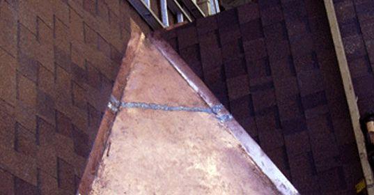 Copper Valleys, Pan Roof, U0026 Chimney Flashing