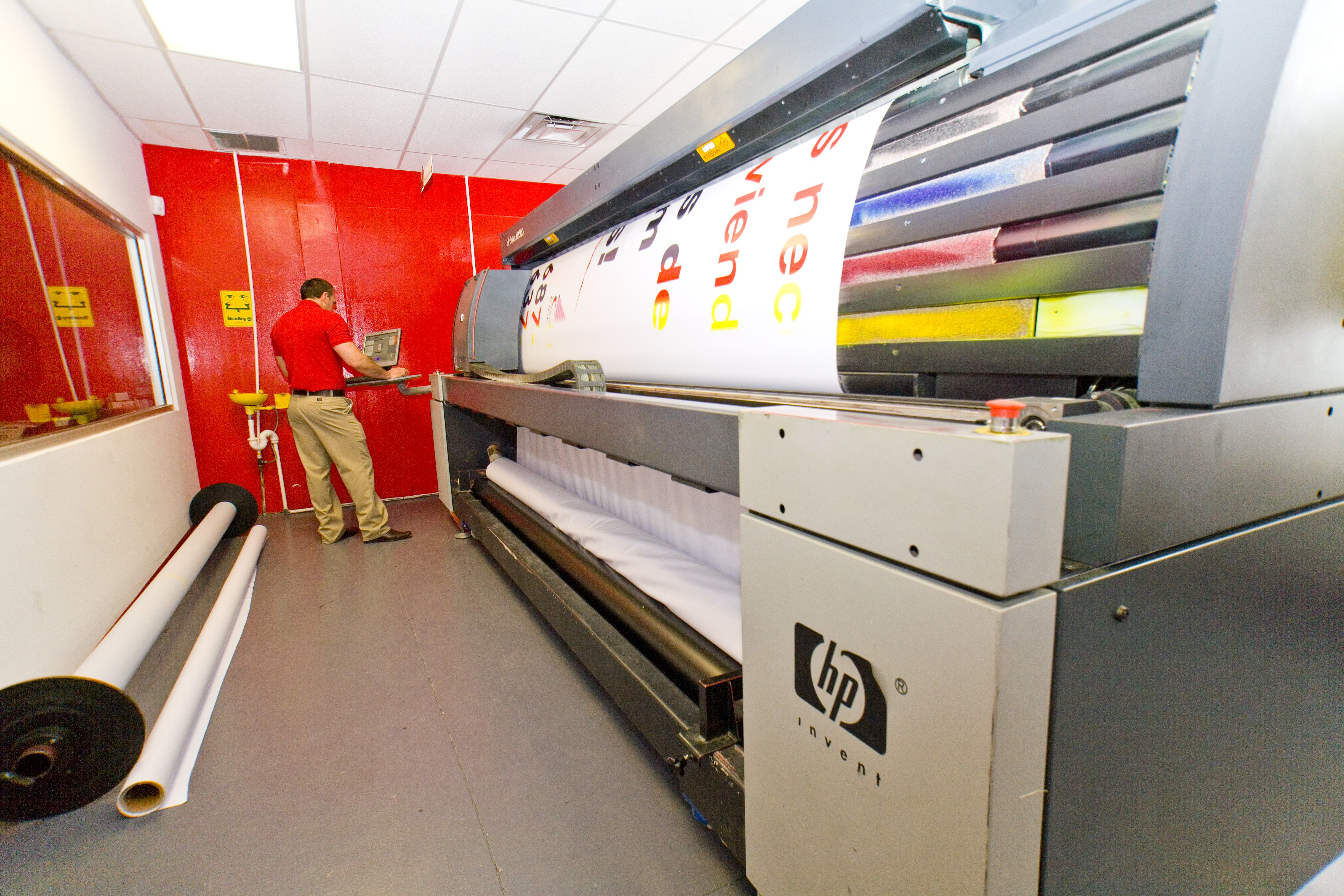 Large Format Printing Big Media Think Big