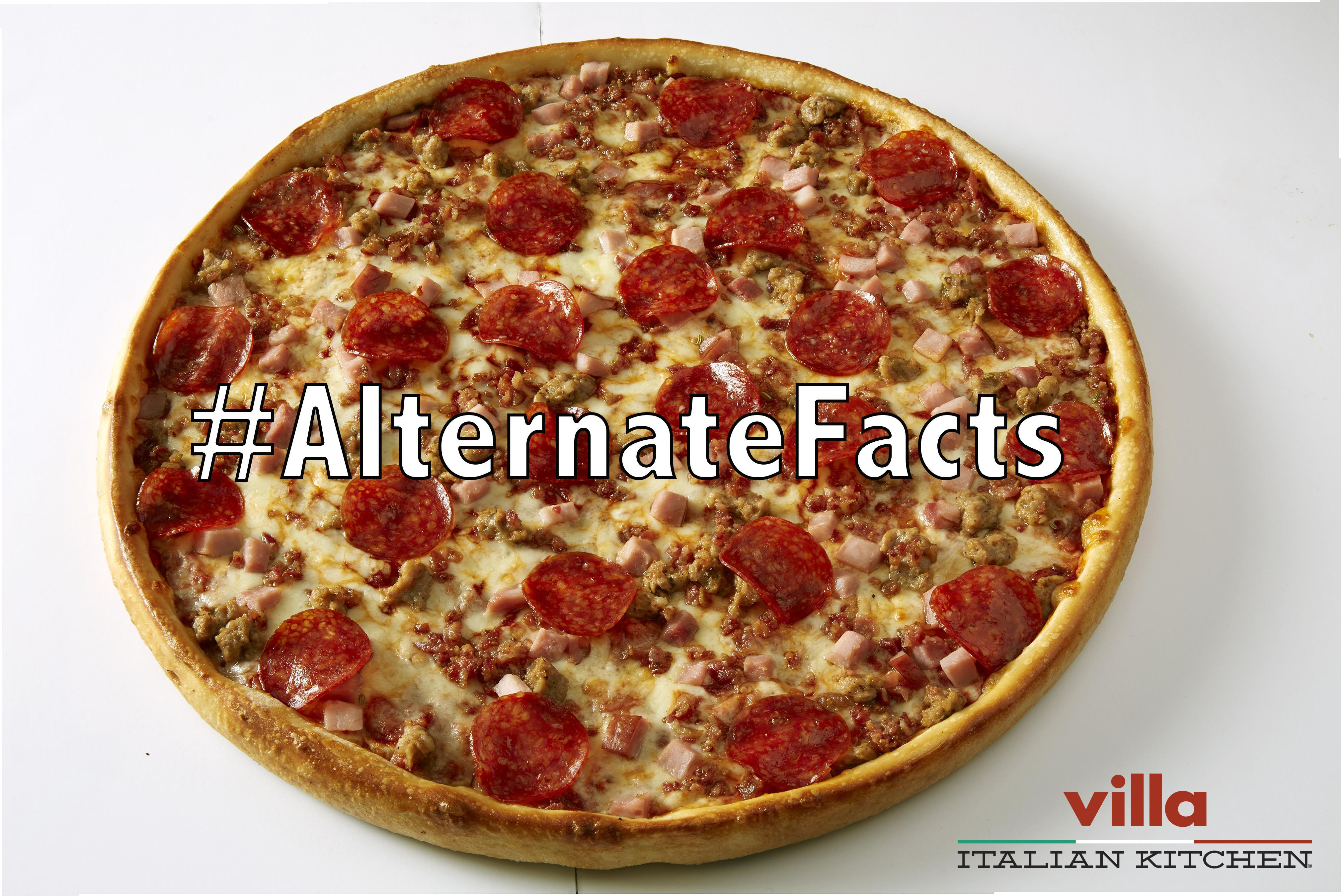Villa Italian Kitchen Announces The Launch Of The Alternatefacts
