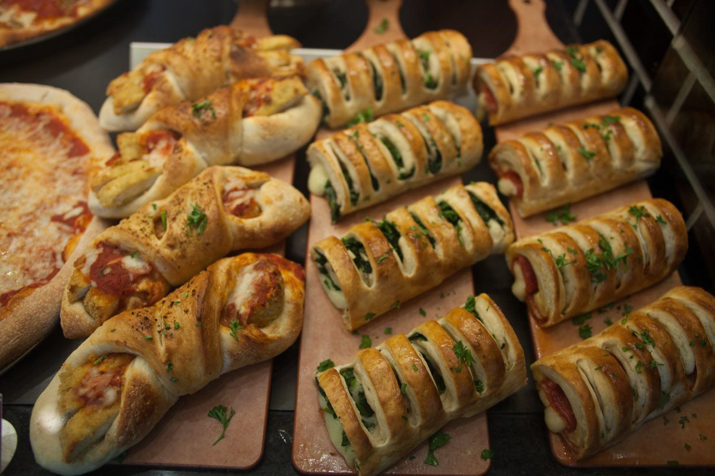 Assorted Stromboli