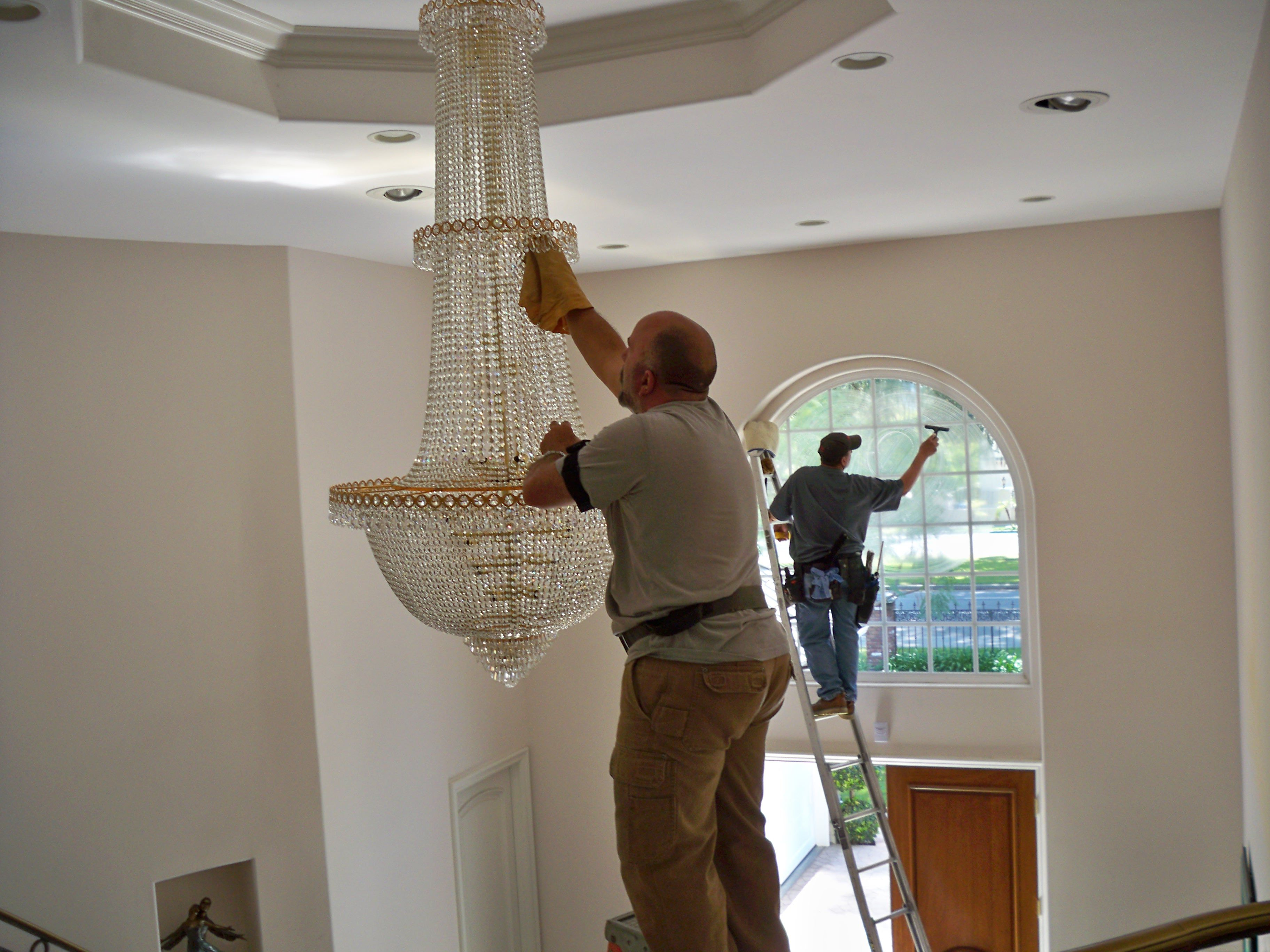 What we offer seaview window cleaning chandelier cleaning arubaitofo Images