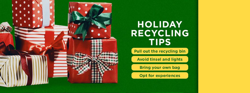 Recycling Tips for the Holidays