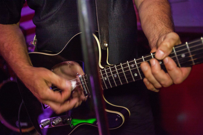 Project 3:13 guitarist