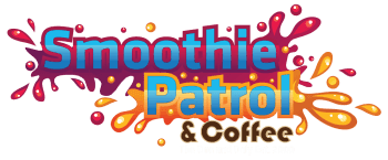 smoothie patrol and coffee logo