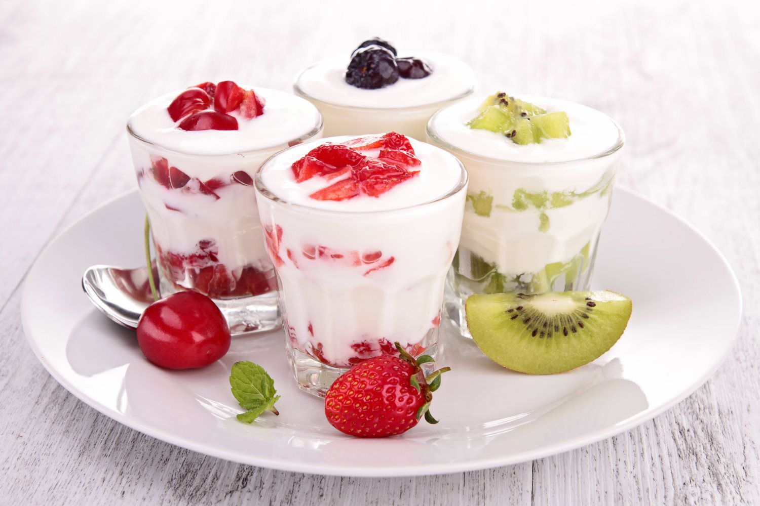 healthy cold refreshments