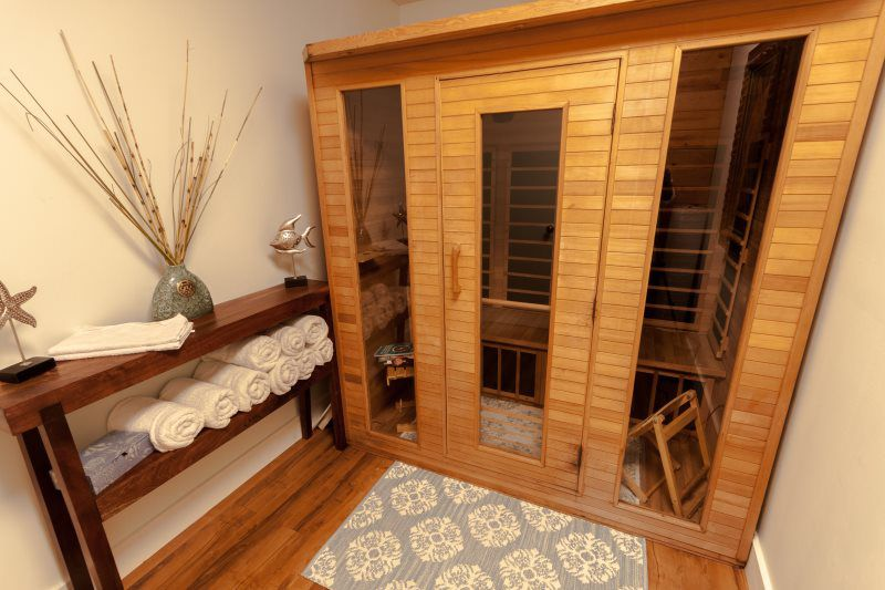 Infrared Sauna Body Wraps Shine Massage And Spa