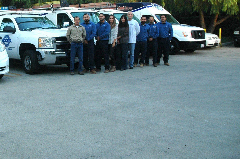 Acosta staff