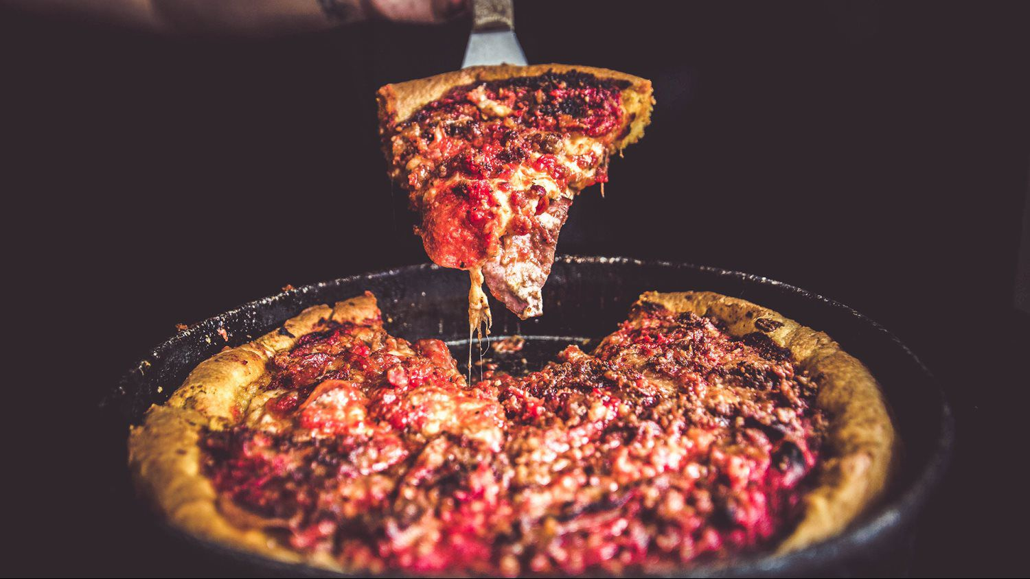 Chicago Style Deep Dish Pizzas Ginos East Chicago Style Deep