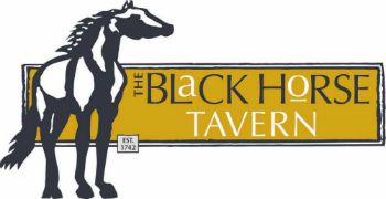 The Black Horse Tavern logo
