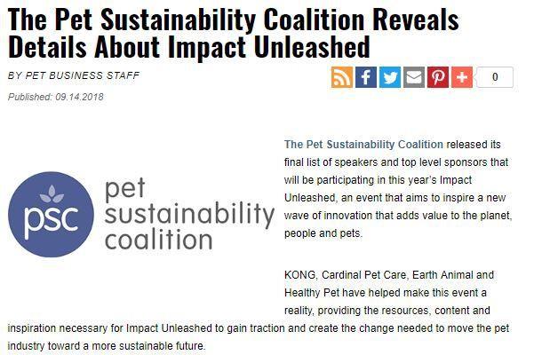 In the News - Cardinal Pet Care